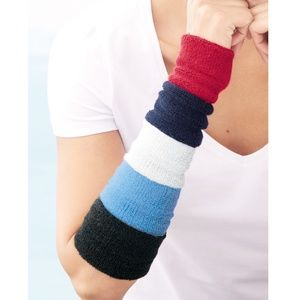 Wristbands Terry Cloth Sweatbands Color Choice New